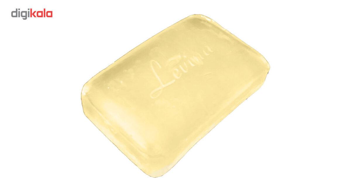 صابون گلیسیرینه کوسه 120 گرمی لوینا