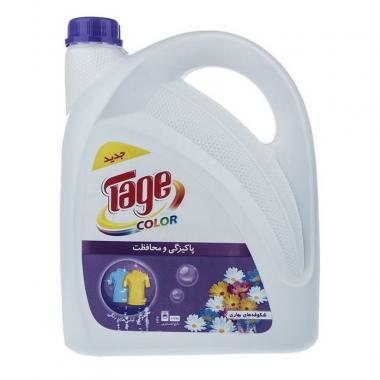 مایع لباسشویی رنگین تاژ مقدار 3750 گ