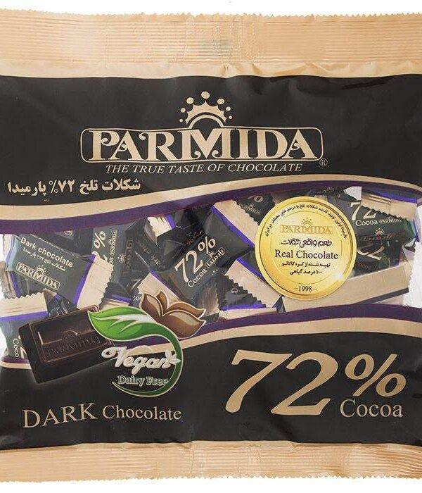 شکلات تلخ پارمیدا 72% یک کیلویی