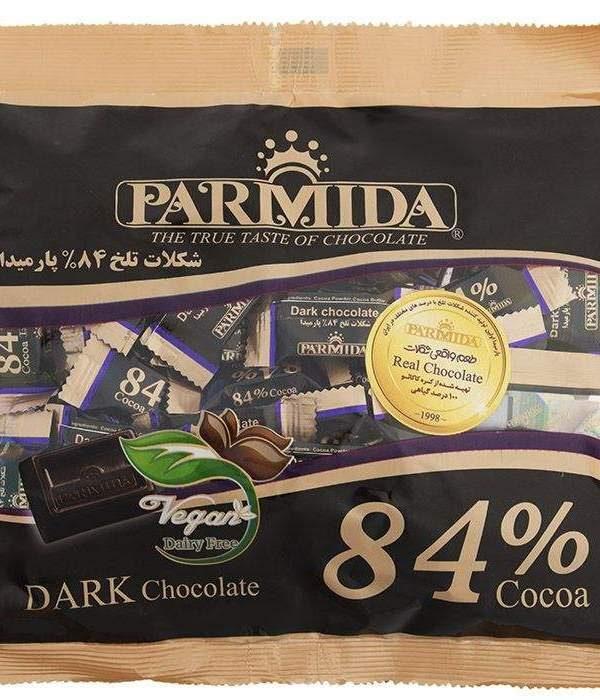شکلات تلخ پارمیدا 84% یک کیلویی