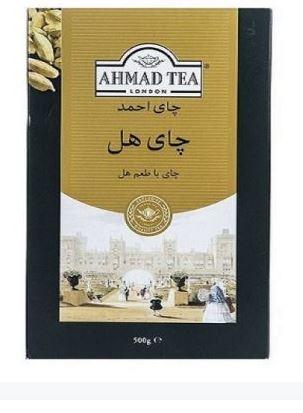 چای سیاه احمد با طعم هل ، 500 گرم