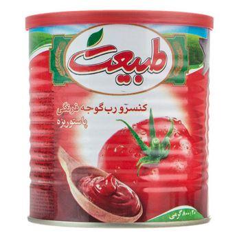 رب گوجه فرنگی طبیعت درب آسان بازشو (800gr)