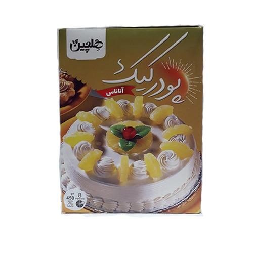 پودر کیک هلچین ۳ طعم کاکائو آناناس و موز
