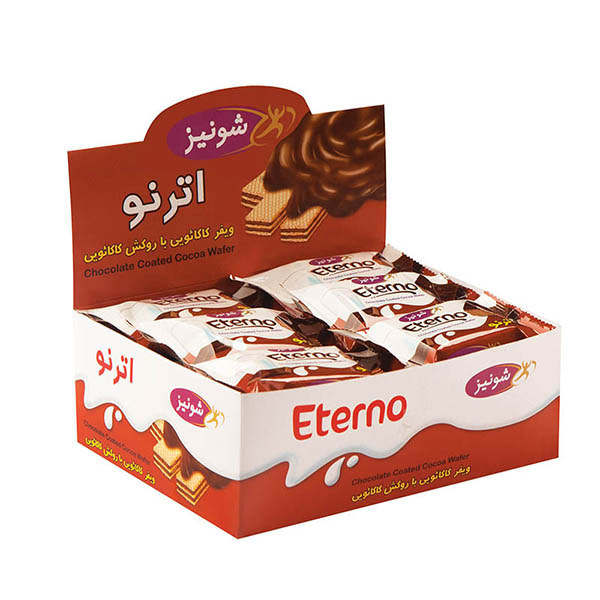 بسته ویفر شکلاتی اترنو مینی 500 گرمی