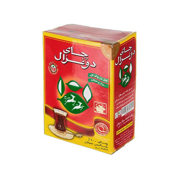 چای سیاه شکسته سیلان دوغزال (قرمز) بسته ۵۰۰ گرمی