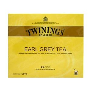 چای کیسه ای 100 عددی ارل گری معطر توینینگز