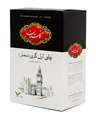 چای سیاه ارل گری معطر گلستان – ۵۰۰ گرم
