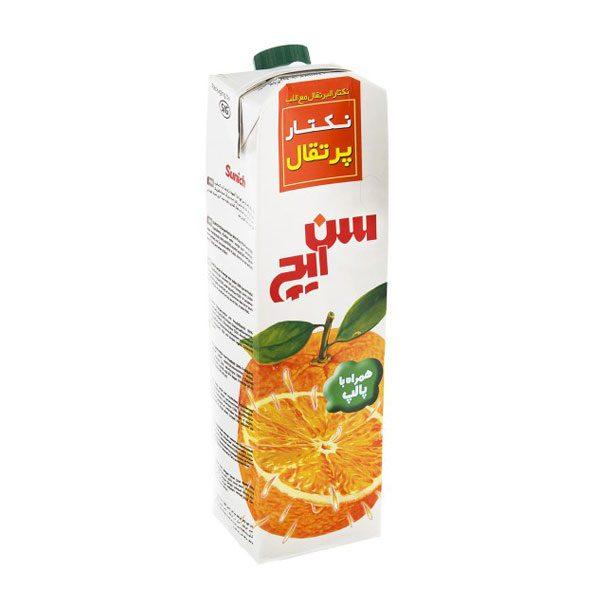 آبمیوه سن ایچ پرتقال یک لیتری