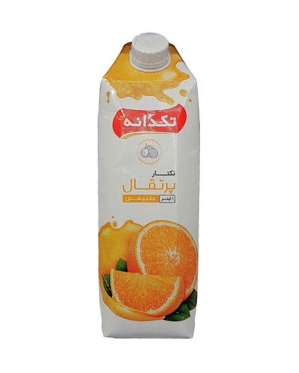 آبمیوه پرتقال تکدانه 1 لیتری