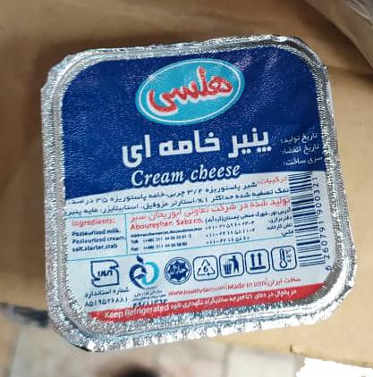 پنیر خامه ای 80 گرمی هلسی