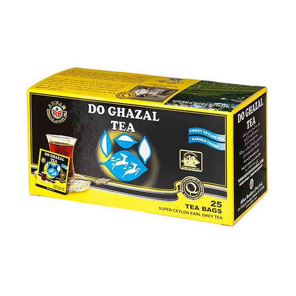 چای کیسه ای ارل گری (عطری) 25 عددی دوغزال