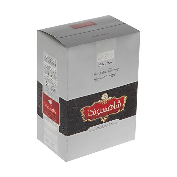 چای سیلان معطر نقرهای نشان 450 گرمی شاهسوند