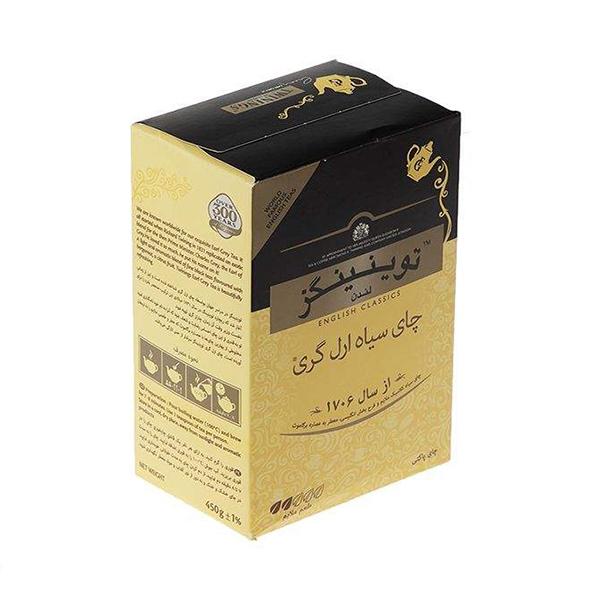 چای سیاه ارل گری 450 گرمی توینینگز