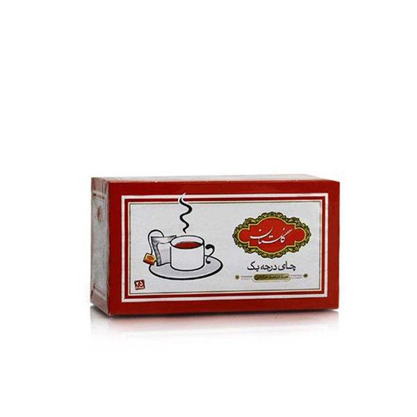 چای سیاه کیسه ای گلستان بسته 25 عددی