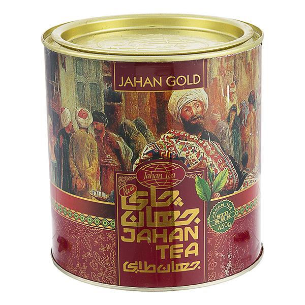 چای طلایی نشان جهان 450 گرمی
