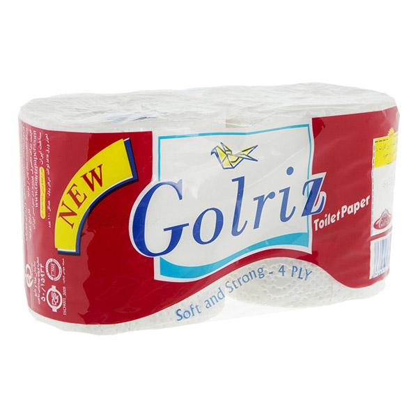 دستمال توالت دو قلو گلریز