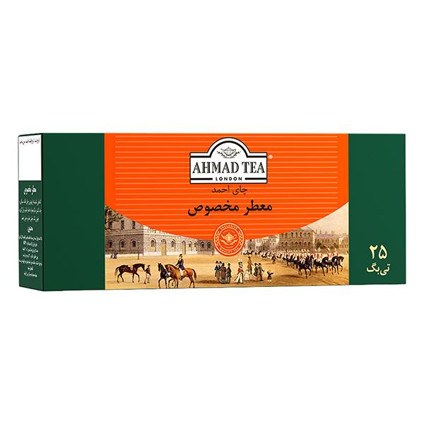 چای کیسهای معطر مخصوص 25 عددی احمد