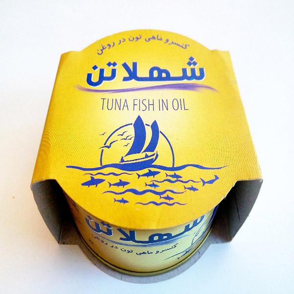 کنسرو ماهی تن در روغن شهلا – 180 گرم
