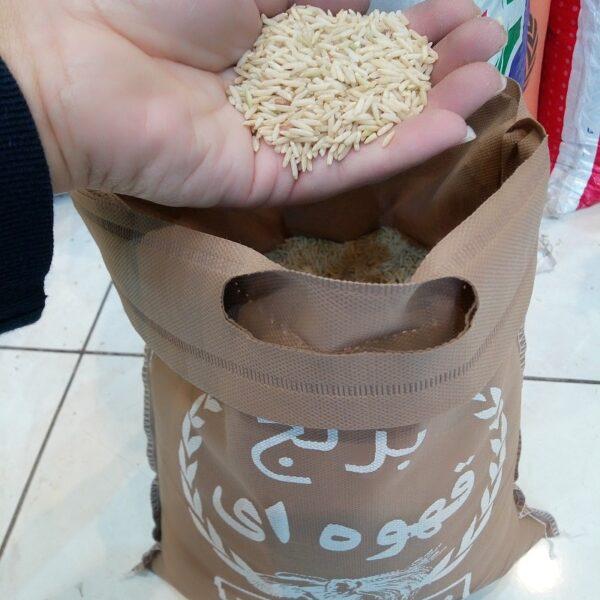 برنج قهوه ای ممتاز رژیمی 10 کیلویی