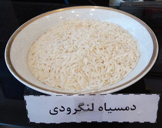 برنج دمسیاه لنگرودی پنج ستاره – ده کیلویی