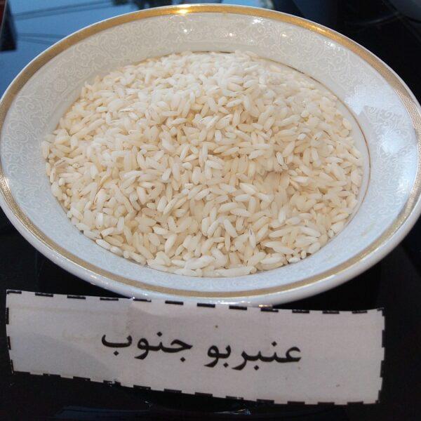 برنج عنبربو خوزستان تن تنایی – ده کیلویی