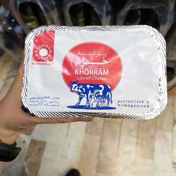 پنیر 230 گرمی لبنه خرم