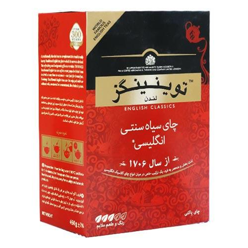چای سیاه سنتی انگلیسی قرمز ۴۵۰ گرمی توینینگز
