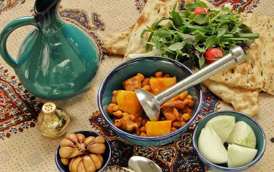 طرز تهیه آبگوشت ساده خانگی (زودپز و خانگی)