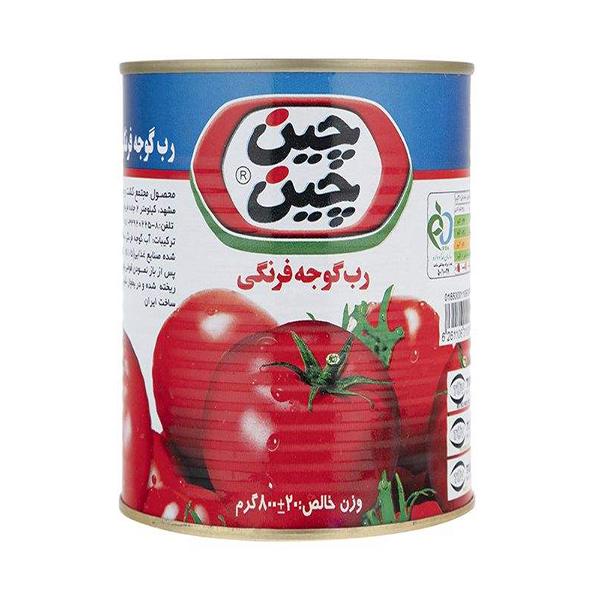 رب گوجه فرنگی چین چین – 800 گرم