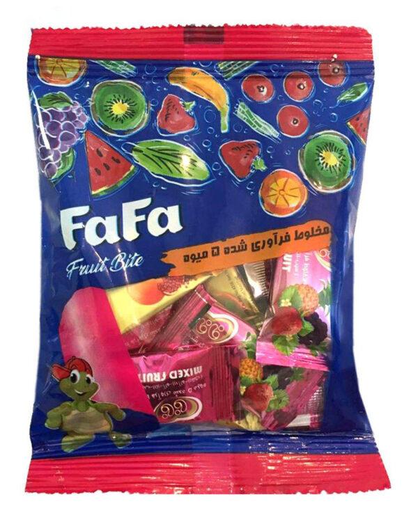 لواشک پذیرایی فافا در طعم های مختلف