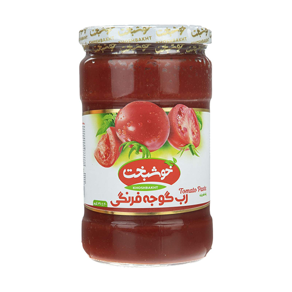 رب گوجه فرنگی خوشبخت – 700گرم