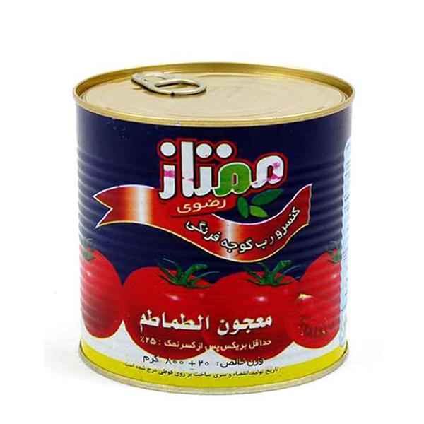 رب گوجه فرنگی ممتاز رضوی – 800 گرم