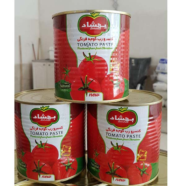 رب گوجه فرنگی بهشاد – 800 گرم
