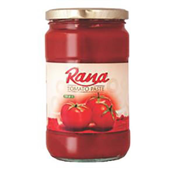رب گوجه فرنگی شیشه ای رعنا- 720 گرم