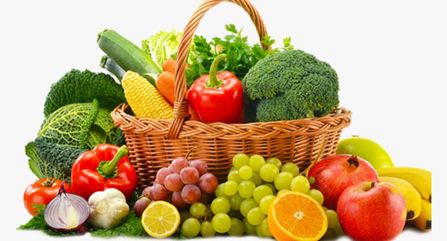 Fresh Fruits and Vegetables - آنچه درباره آنفولانزا باید بدانید + پیشگیری از آنفلوآنزا