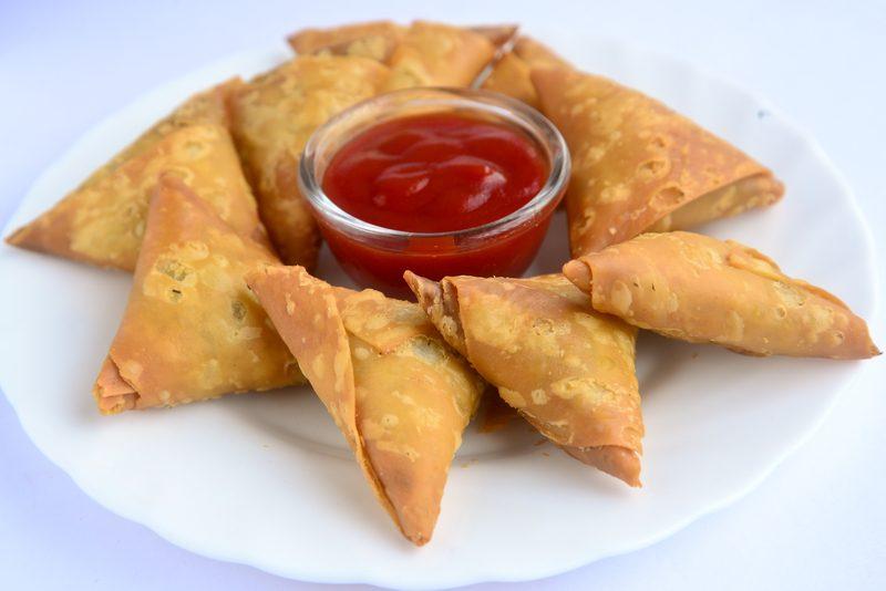 Samosa veg - طرز تهیه سمبوسه (پیتزایی، گوشت، مرغ، جنوبی)