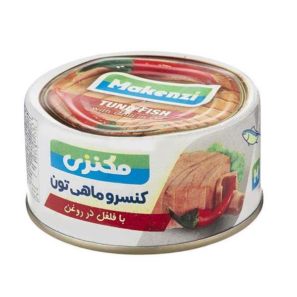 کنسرو ماهی تن فلفلی مکنزی- 180 گرم