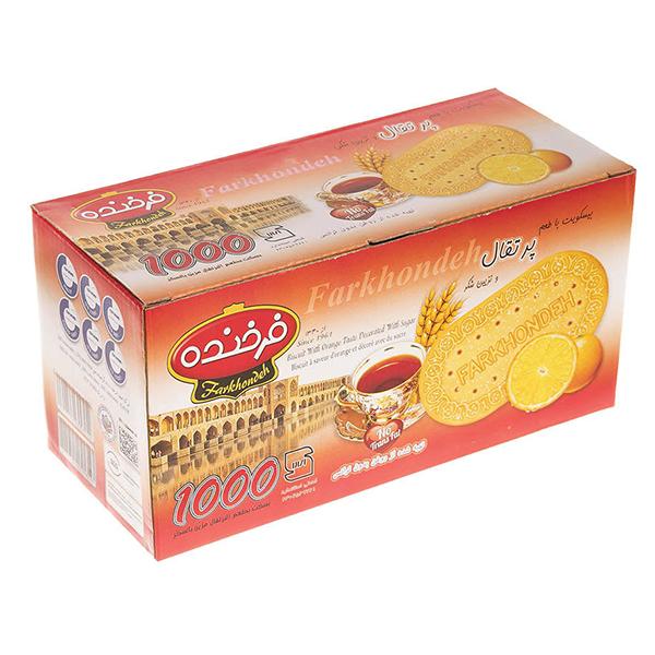 بیسکوییت فرخنده با طعم پرتقال – 900 گرم