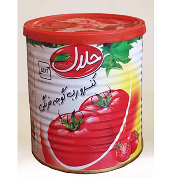 رب گوجه فرنگی حلال – 800 گرم