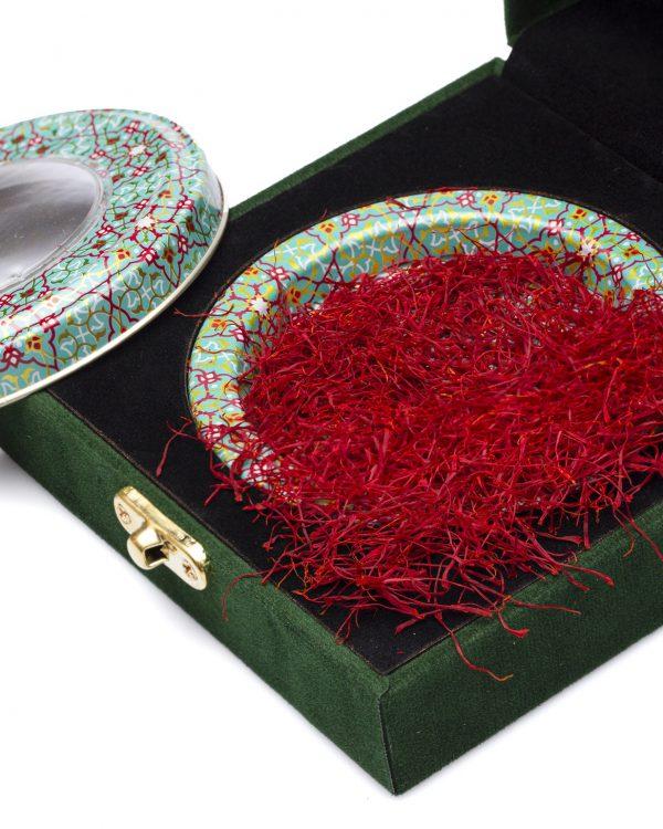 زعفران نگین ممتاز یک مثقال کامل صادراتی (4.6 گرم کامل) (بسیار مرغوبتر از سرگل است)