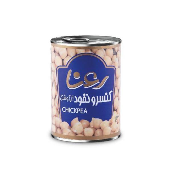 کنسرو نخود آبگوشتی رعنا (آسان باز شو) حجم ۴۰۰ گرم