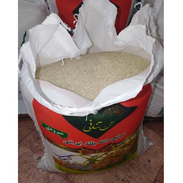 برنج دانه بلند ایرانی شیرودی – وزن 10 کیلوگرم