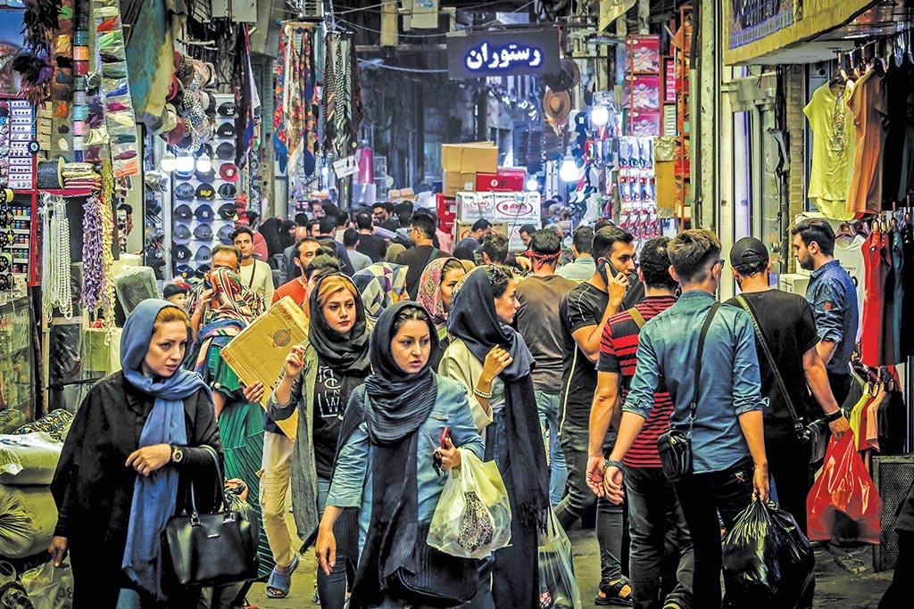 شب عید - سوپر مارکت مشهد