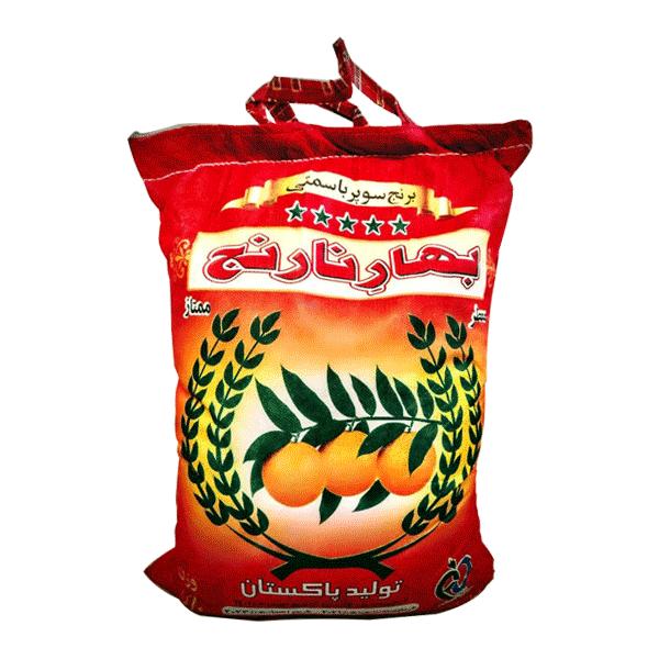 برنج پاکستانی سوپر بهار نارنج (کهنه)۱۰ کیلویی