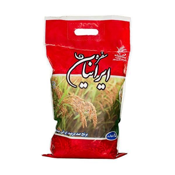 برنج سفره ایرانیان کشت اول پنج کیلویی