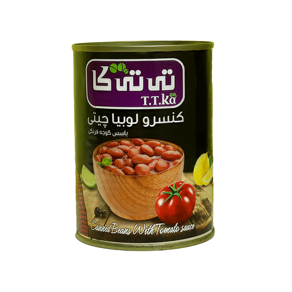 کنسرو رب گوجه فرنگی تی تی کا ۸۰۰ گرمی