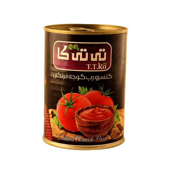 کنسرو رب گوجه فرنگی تی تی کا ۴۰۰ گرمی