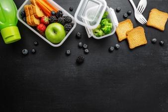 healthy lunch go packed lunch box 1220 4543 - بهترین زمان صرف هر وعده غذایی