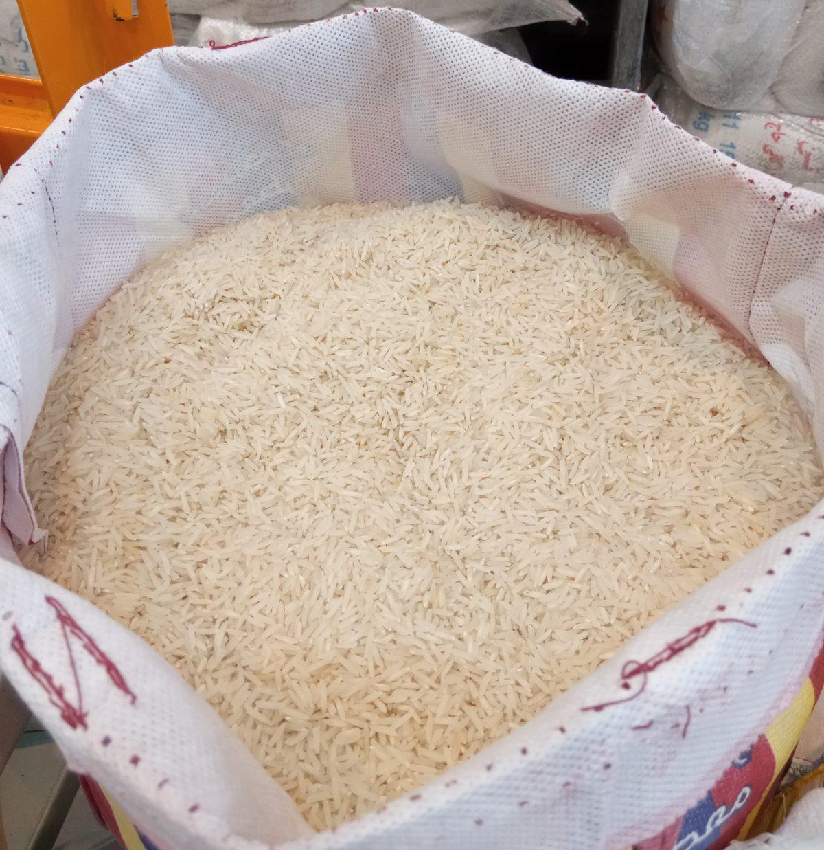 برنج پاکستانی بیردانه ده کیلویی