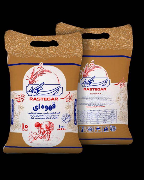 برنج قهوه ای سبوسدار رستگار